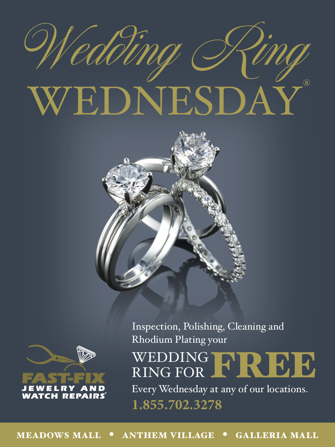 Wedding ring Wednesday poster