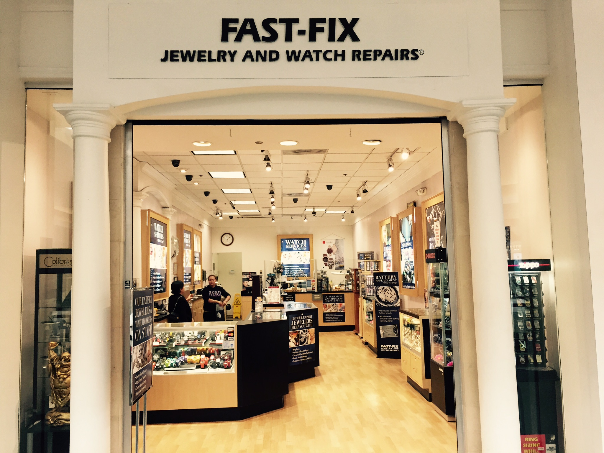 Fast Fix in Fairfield store front