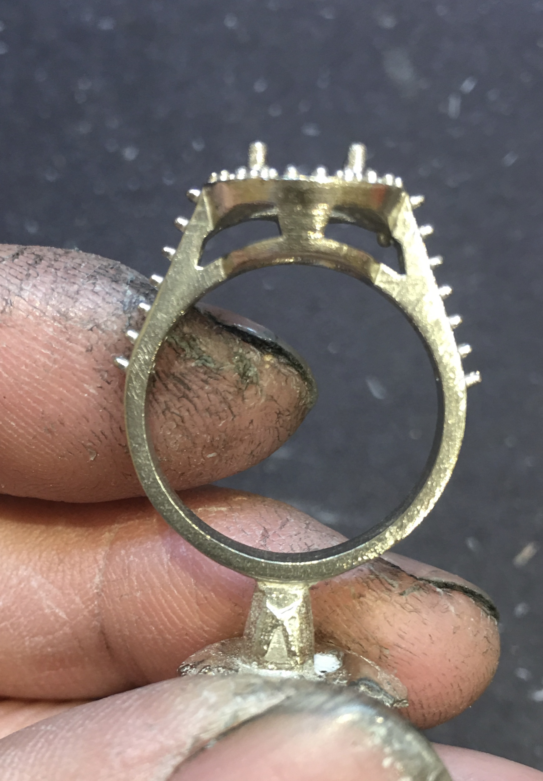 Casting a ring