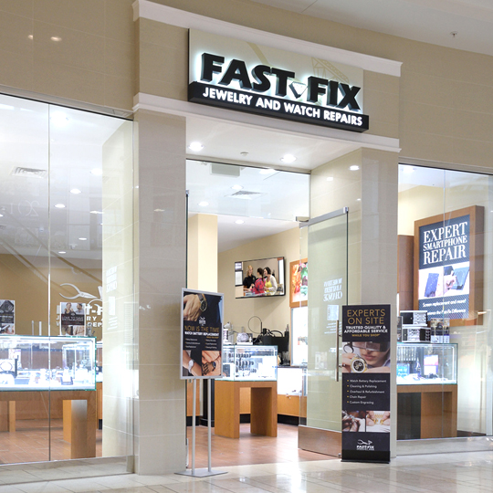 Store front of the Fast-Fix Franchise