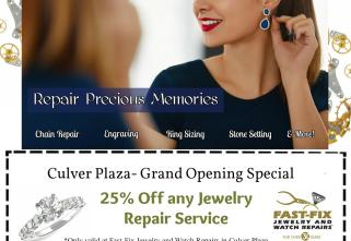 Fat fix Jewelry and Watch Repairs in Irvine coupon
