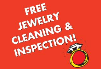 free cleaning and Inspection poster